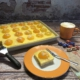 Spiegeleierkuchen mit Stoneware gebacken
