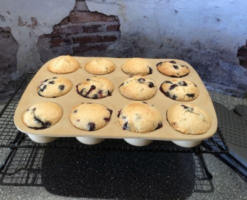 Muffins backen in Stoneware pampered chef