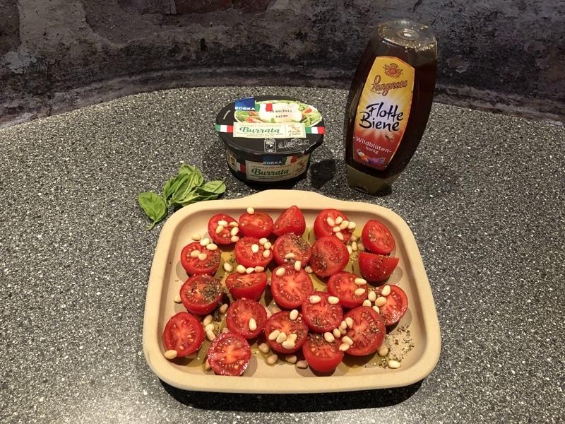 Tomaten mit Burrata Rezept neu Stoneware wie im Steinfogen